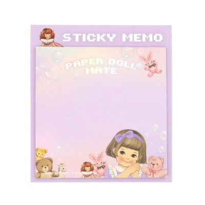 Paper doll mate Square Sticky memo_Sally