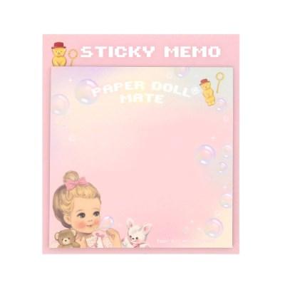 Paper doll mate Square Sticky memo_Julie