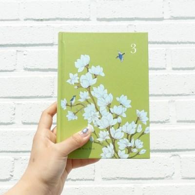 [3년일기장] 민화시리즈_목련도