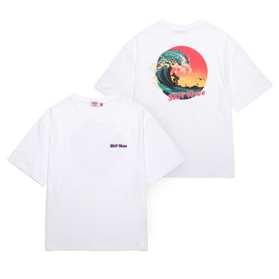 UNION SUN WAVE T-SHIRT - WHITE_(1288288)