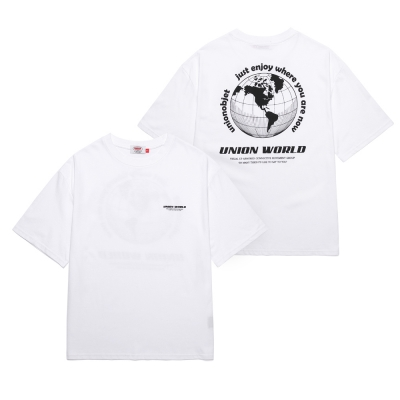 UNION WORLD T-SHIRT - WHITE_(1288286)