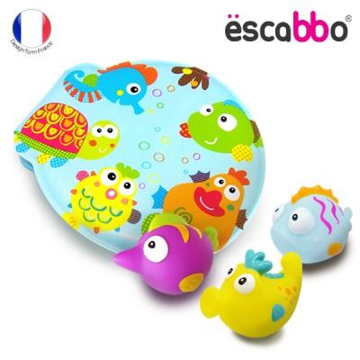 [ESCABBO]에스까보 말랑말랑 아기목욕놀이 책 4PCS