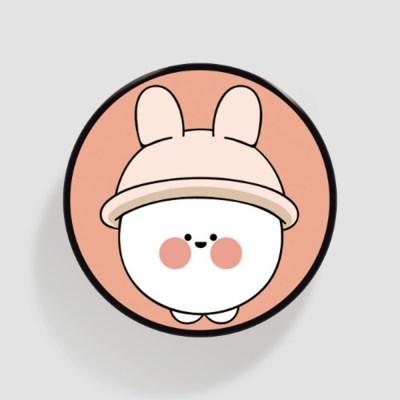 (플라톡) 분홍 모자 퉁숙이_(852066)