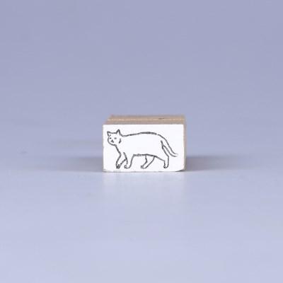 [노낫네버] 고양이일상 산책 우드 스탬프