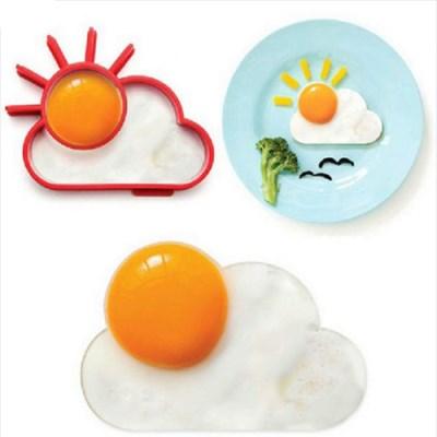 실리콘 햇님모양 계란틀 1개