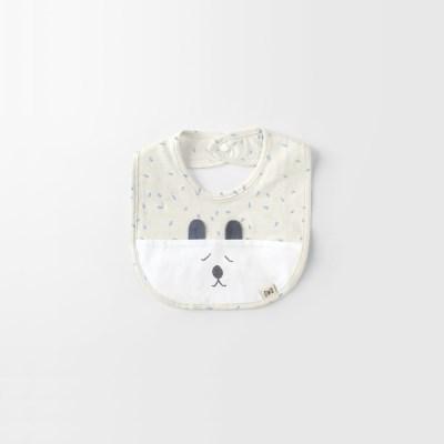 [메르베] 봄날의곰 아기턱받이/침받이_간절기용_(1009814)