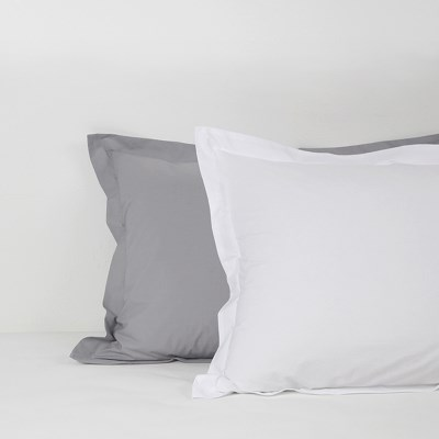 80s Washing Cotton Solid Pillowcase_3 style