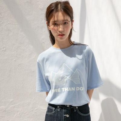 [치즈달] 'MORE THAN DOPE' 티셔츠