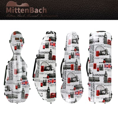 미텐바흐 패턴 바이올린케이스 MBVC-6 하드케이스 4TYPE