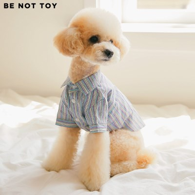 [BE NOT TOY] 스트라이프 셔츠 / 강아지 애견 의류