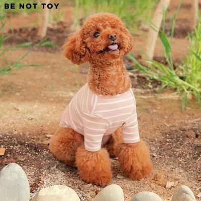 [BE NOT TOY] 스트라이프 티셔츠 / 강아지 애견 의류