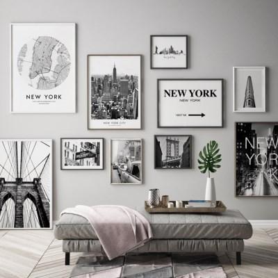뉴욕액자 인테리어 그림 포스터 모음