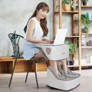 [브람스] 홍진영의 스툴 변신 마사지기(브라운), 풀케어 마사지기