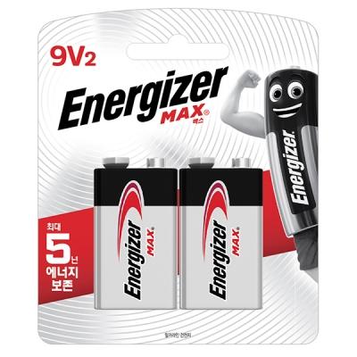 [맥스장터] 에너자이저 맥스 (9V2입)(2알)