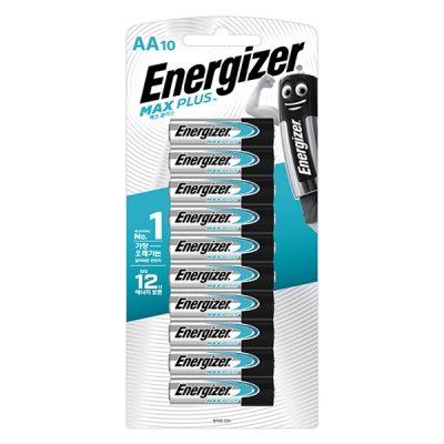 [맥스장터]  에너자이저 맥스 플러스 AA10입(10알)