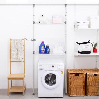 에스파스 기둥식 옷사랑 세탁기선반 2단_(1079477)