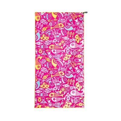 4몬스터 비치타월_Lollipop Pink
