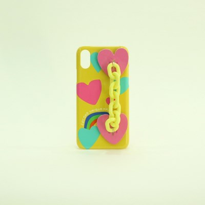 SUN CASE CANDY CHAIN YELLOW
