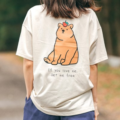 [Organic cotton] Brown Bear