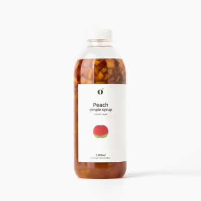 [20market] 이영마켓 Peach simple syrup