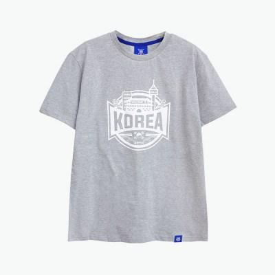 [티니타이거] 코리아 반팔 티셔츠 (그레이)