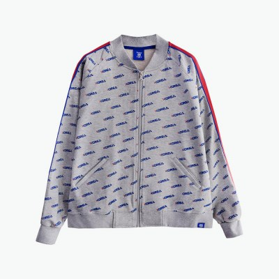 [티니타이거] 코리아 패턴 자켓 (그레이)