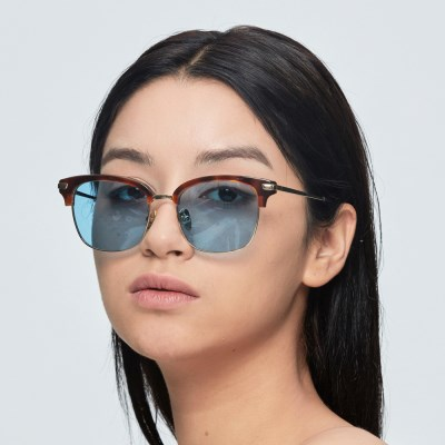 [일삼사엠엠]134MM 안경 AKAYA 아쿠아블루틴트 선글라스