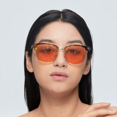 [일삼사엠엠]134MM 안경 AKAYA 오렌지틴트 선글라스