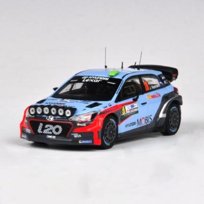 [현대] 1:43 2016 i20 WRC GB No 20 헤이든 패든(212P77130)