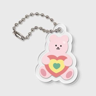 Target bear-pink(키링)_(1212207)