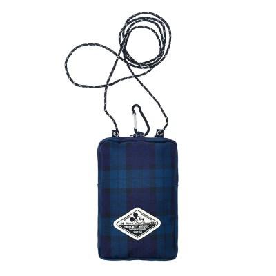 [디즈니정품]A188.체크 미키마우스 핸드폰 크로스백