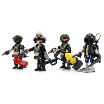 플레이모빌 경찰 특공대 팀(9365)