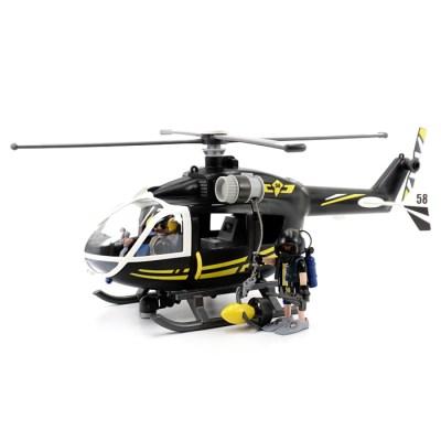 플레이모빌 경찰 특공대 헬리콥터(9363)