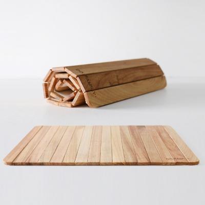 캄포나무 우드 감성 테이블매트