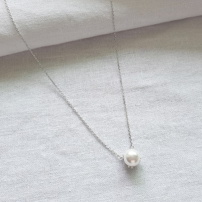 Baroque Pearl Necklace - Silver925