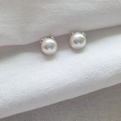 Baroque Pearl Earrings - Silver925