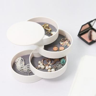 귀걸이 반지 팔찌 주얼리수납 원형 4단보관함 Atelier_(1042824)