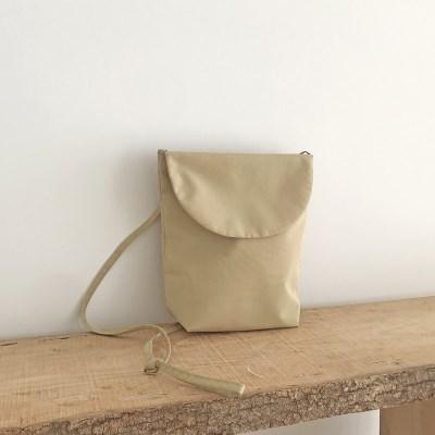 sand beige mini cross bag / 샌드베이지 미니크로스백