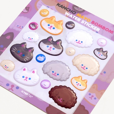 KANCHO MAYO BOMBOM water sticker