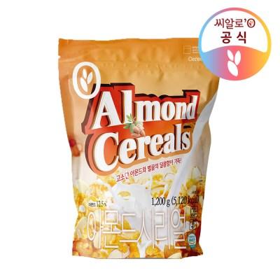 씨알로 아몬드 프레이크 대용량 지퍼백(1.2kg)_(1464892)
