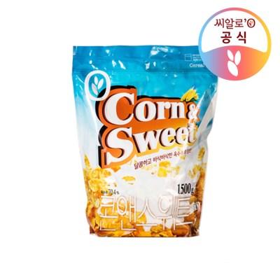 씨알로 콘앤스위트 대용량 지퍼백(1.5kg)_(1464890)