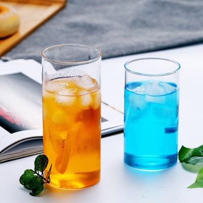 인블룸 북유럽스타일 투명 유리 원형컵 450ml_(1922743)