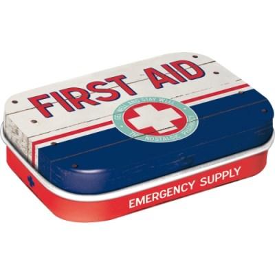 노스텔직아트[81320] First Aid Blue - Emergency Supply