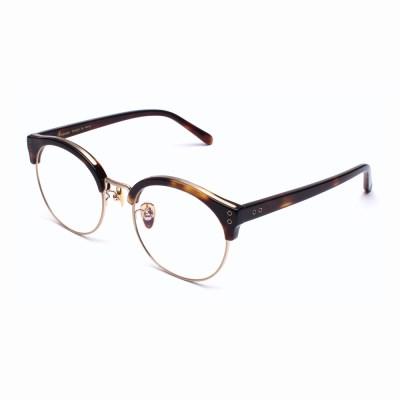 [일삼사엠엠]134MM 안경 POINT 브라운호피