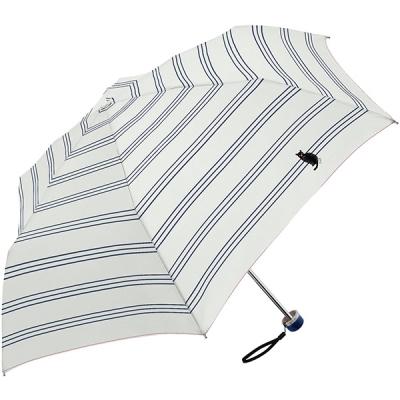 [병행수입] 고양이 자수 미니 3단우산(우산겸양산)2종