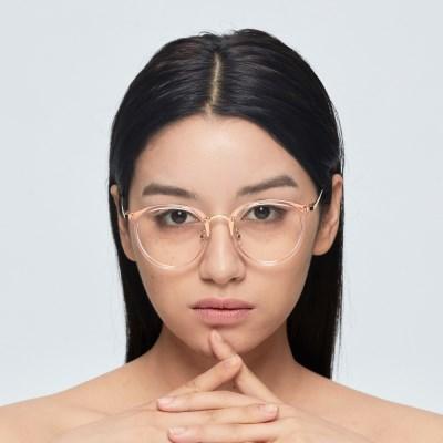 [일삼사엠엠]134MM 안경 YURICO 핑크투명