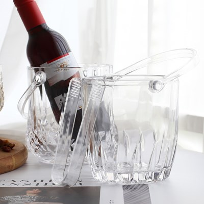 클래식아이스버킷세트(디자인선택) / 유리 와인 양주 샴페인 쿨러