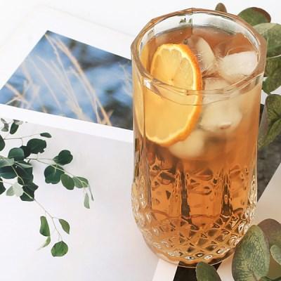 다이아컷팅유리컵(240ml) / 카페 아이스 홈카페 음료 유리 잔 컵