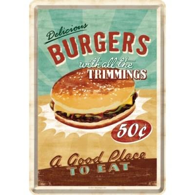 노스텔직아트[10140] Burgers