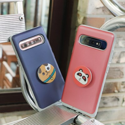 갤럭시S10 (G973) Liso-DogTok 그립톡 카드 범퍼 케이스